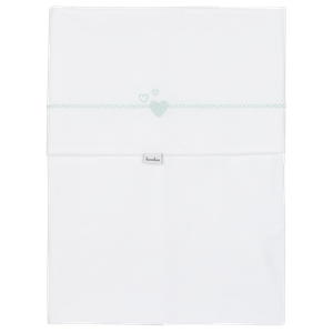 1033-41154_WHITE-SOFTMINT Babyproducten Ledikantlakens