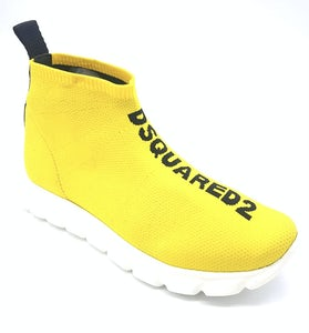 67044_YELLOWBLACKPRINT Schoenen Sneakers