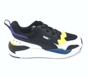 37419001_BLACK-BLACK-WHITE-FIZZYYELLOW-DIGI-BLUE Schoenen Sneakers