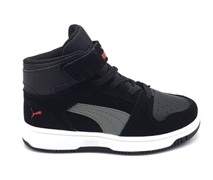 37049405_BLACK-ULTRAGRAY-HIGHRISKRED-WHITE Schoenen Sneakers