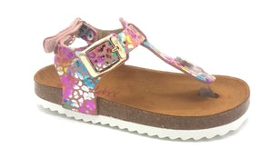 48192_MULTICOLOURMETALLIC Schoenen Slippers