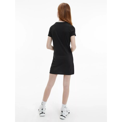 ck repeat foil t-shirt dress Kleding Jurkjes