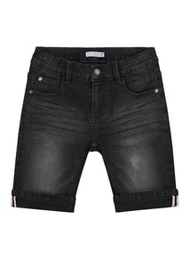 B2856-1704_BLACKDENIM Kleding Shorts