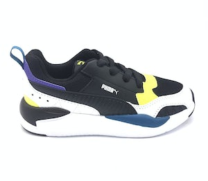 37419201_BLACK-BLACK-WHITE-FIZZYYELLOW-DIGI-BLUE Schoenen Sneakers