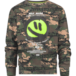 EF20KBN34001_ARMYALL-OVER Kleding Sweaters