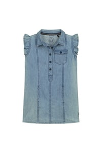 GABRIELS201_BLUECHAMBRAY Kleding Jurkjes