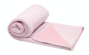 927_POWDERPINK Babyproducten Ledikantlakens