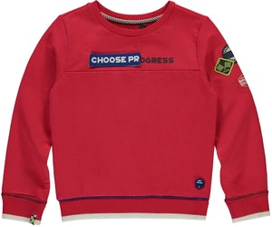 THIAS_RACERED Kleding Sweaters