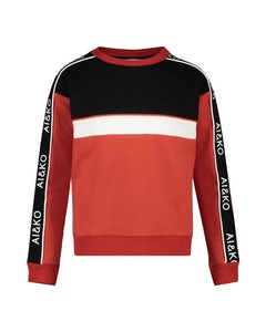 SELANA_181763-BRIGHTRED Kleding Sweaters