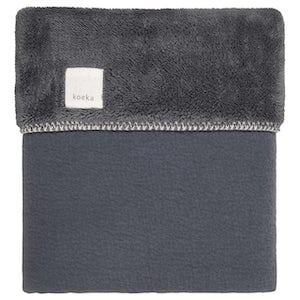 1045-0001_DARKGREY Babyproducten Wiegdekens