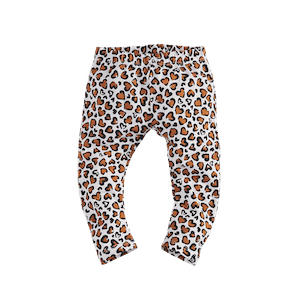 KATJA_BRIGHTWHITELEOPARDAOP Kleding Leggings